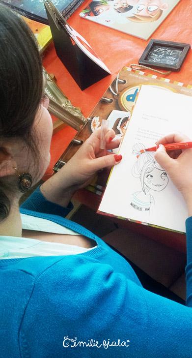 Histoire Emilie Fiala dédicade album illustration
