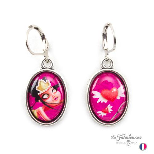 Boucles-oreilles-Les-Fabuleuses-argent-Attrappe-Coeurs-Emilie-Fiala