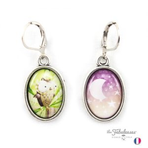 Boucles-oreilles-Les-Fabuleuses-argent-Chouette-Spleen-Emilie-Fiala