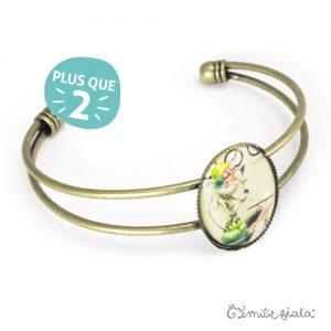 Bracelet simple Tea Time laiton profil Emilie Fiala-2