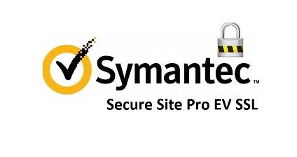 Symantec Secure Site Pro EV SSL Certificate