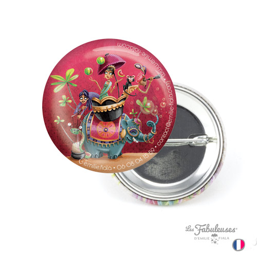 Badge-38mm-Les-Fabuleuses-Route-Inde