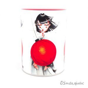 Boîte ronde Art For Japan face Emilie Fiala
