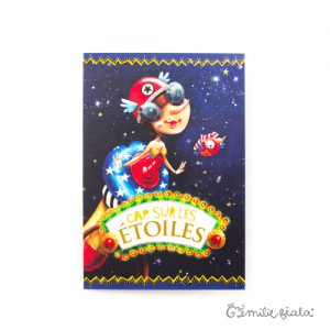 Carte double Cap sur les Étoiles face Emilie Fiala