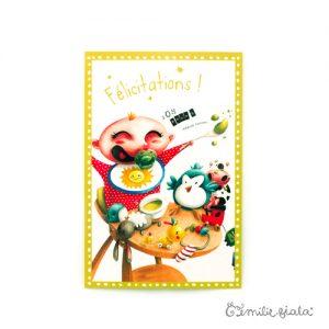 Carte postale Alessandro face Emilie Fiala