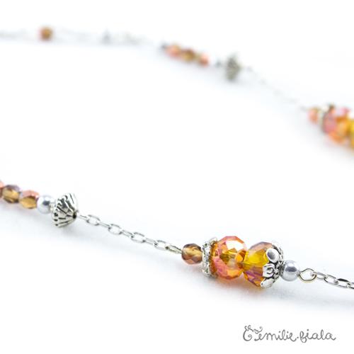 Collier créatif Arabesque d Orient perles Emilie Fiala