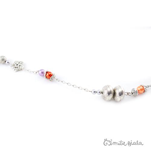 Collier créatif Bollywood perles Emilie Fiala