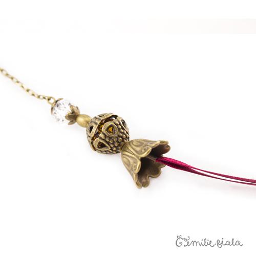 Collier créatif Eté Indien perles Emilie Fiala