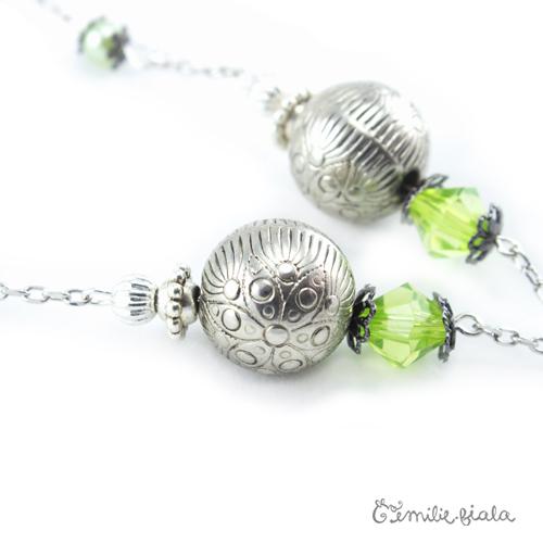 Collier créatif L Attrape-Reves perles Emilie Fiala
