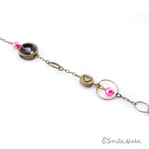 Collier créatif L Epuisette perles Emilie Fiala