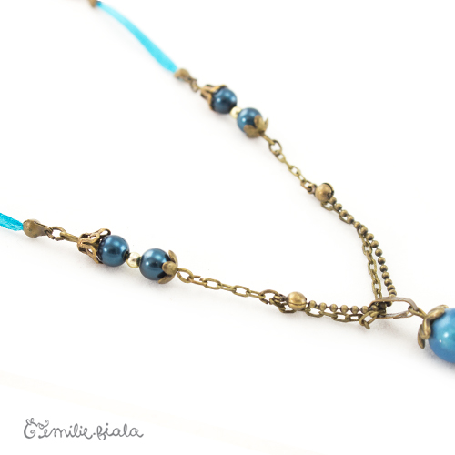 Collier créatif Le Pecheur d Etoiles perles Emilie Fiala