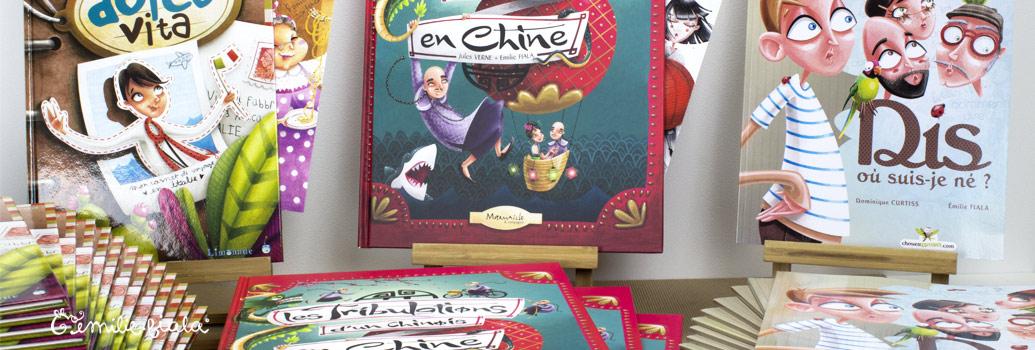 Emilie Fiala Créations Illustrées Albums