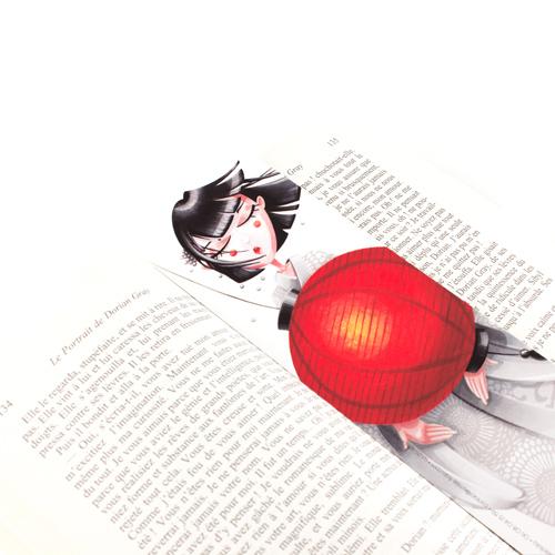 Marque-pages Art For Japan profil Emilie Fiala