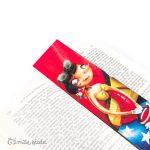 Marque-pages Flanelle profil Emilie Fiala