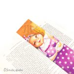 Marque-pages Nonna profil Emilie Fiala