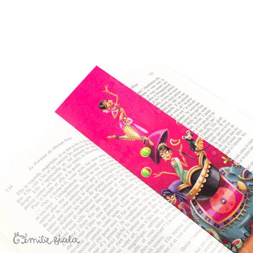 Marque-pages Sur la Route des Indes profil Emilie Fiala