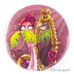 Miroir de poche La Flamant Rose recto Emilie Fiala