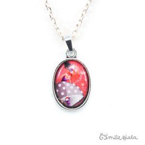 Petit collier simple Coeur Léger argenté zoom Emilie Fiala