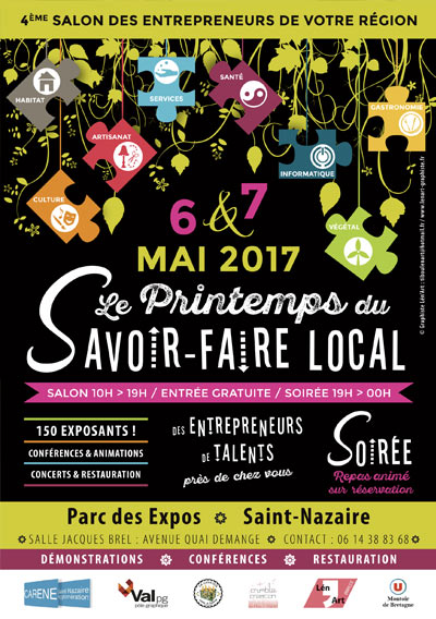 Printemps Savoir-Faire Local Saint-Nazaire Loire-Atlantique salon artisanat Emilie Fiala