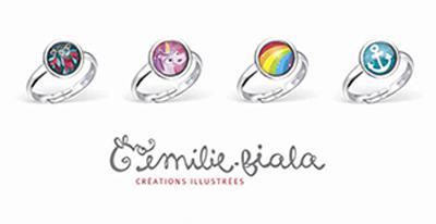 Boutiques partenariat vente bijoux fantaisie Emilie Fiala