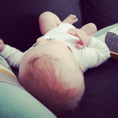 Squat bebe sieste dodo bonheur Emilie Fiala