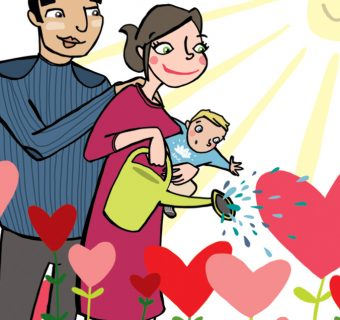Bonne annee 2018 illustration blog citation amour bonheur Emilie Fiala