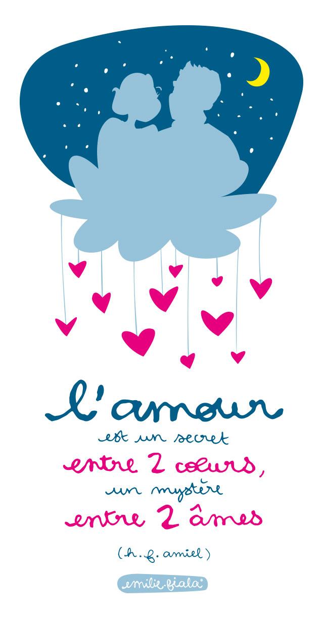 Saint-Valentin amour amoureux couple coeur cheri Emilie Fiala