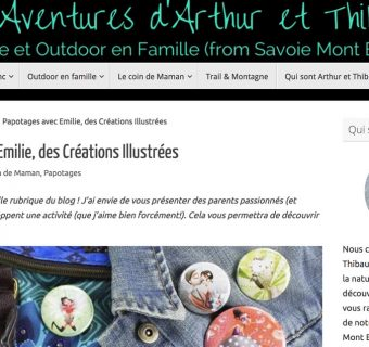 Interview-Virginie-Corbic-voyages-rencontres-papotages-salon-artiste-Emilie-FIala