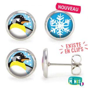 BO-Les-Minis-Pingouin-Flocon-bijoux-enfants-cadeau