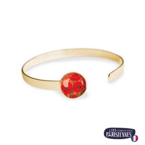 Bracelet-Jonc-Les-Parisiennes-Poppy_OR