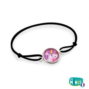 Bracelet-Les-Minis-Licorne-Rose-Emilie-FIALA