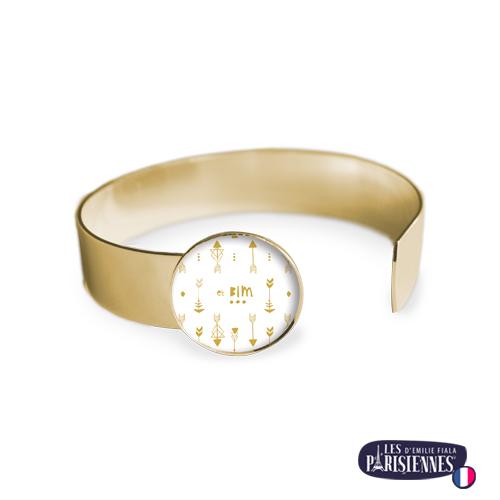 Bracelet-Medium-Les-Parisiennes-Bim_OR