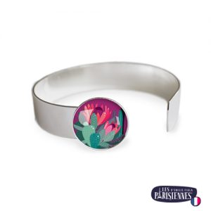 Bracelet-Medium-Les-Parisiennes-Cactus_ARGENT