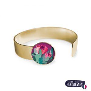 Bracelet-Medium-Les-Parisiennes-Cactus_OR