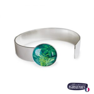 Bracelet-Medium-Les-Parisiennes-Jungle_ARGENT