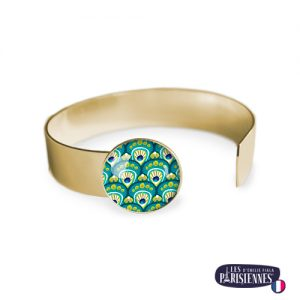 Bracelet-Medium-Les-Parisiennes-Peacock_OR