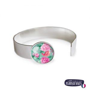 Bracelet-Medium-Les-Parisiennes-Pivoines_ARGENT