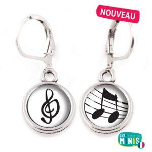 Dormeuses-Les-Minis-Note-musique-cle-sol-bijoux-enfants-cadeau