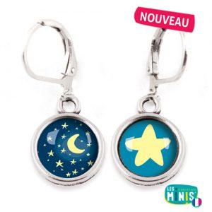 Dormeuses-Les-Minis-Nuit-Etoile-bijoux-enfants-cadeau