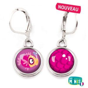 Dormeuses-Les-Minis-Poisson-Ecailles-bijoux-enfants-cadeau