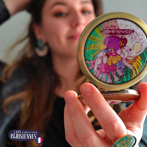 Miroir-Les-Parisiennes-accessoire-mode-tendance-perroquets