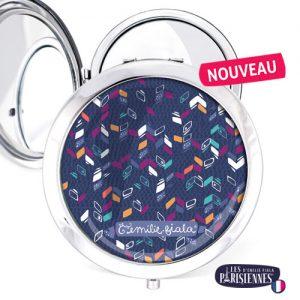 Miroir-Les-Parisiennes-argente-Bilboa-accessoire-geometrique-fashion