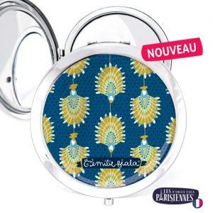 Miroir-Les-Parisiennes-argente-Flabellum-accessoire-Egypte-Cleopatre