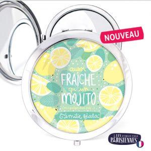 Miroir-Les-Parisiennes-argente-Mojito-accessoire-cocktail-citron-menthe-ete