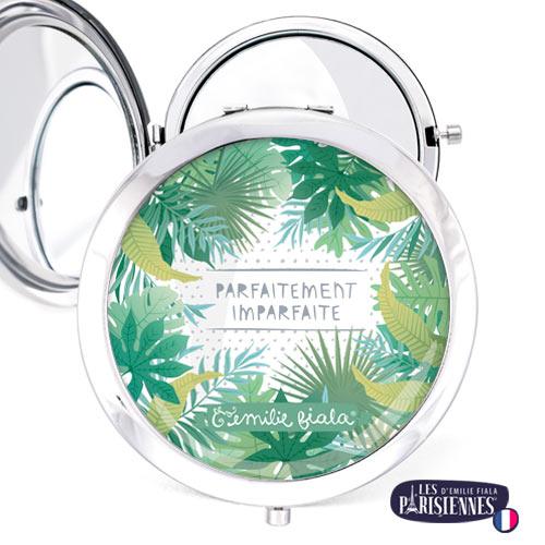 Miroir-Les-Parisiennes-argente-Parfait-accessoire-tropical-jungle-perfection