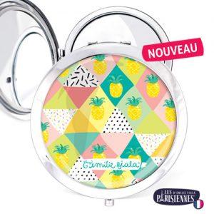 Miroir-Les-Parisiennes-argente-Pina-Colada-accessoire-ananas-cocktail-confettis