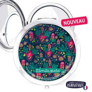 Miroir-Les-Parisiennes-argente-Rio-accessoire-exotique-samba