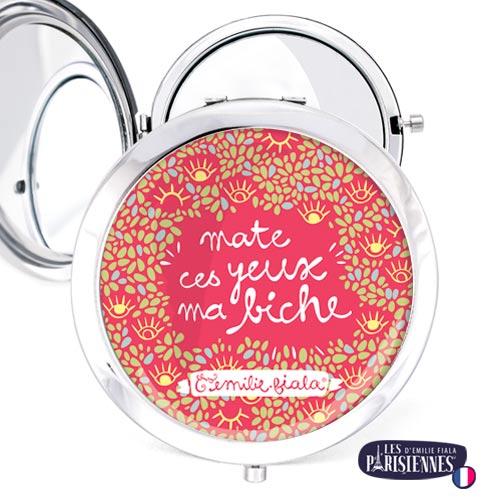 Miroir-Les-Parisiennes-argente-Yeux-de-Biche-accessoire-floral
