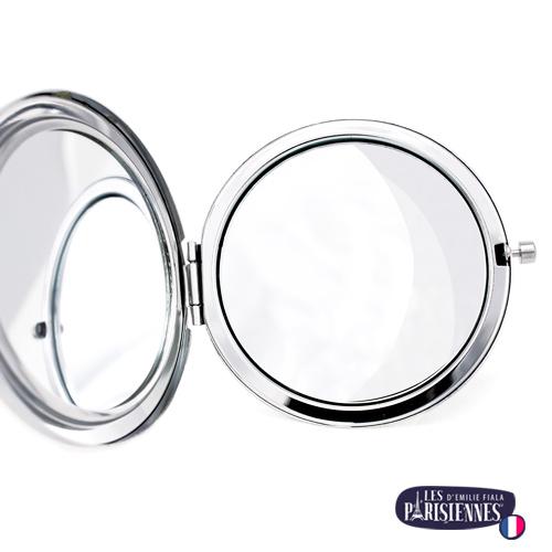 Miroir-Les-Parisiennes-argente-ouvert-accessoire-mode-tendance