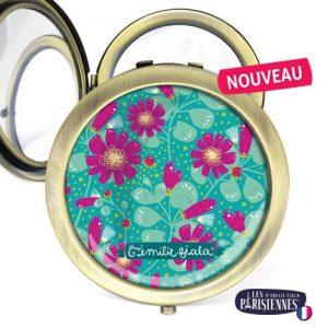 Miroir-Les-Parisiennes-bronze-antique-Fleur-d-Eau-accessoire-botanique-flore